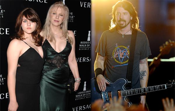 Courtney Love Accuses Dave Grohl of Hitting on Frances Bean Cobain