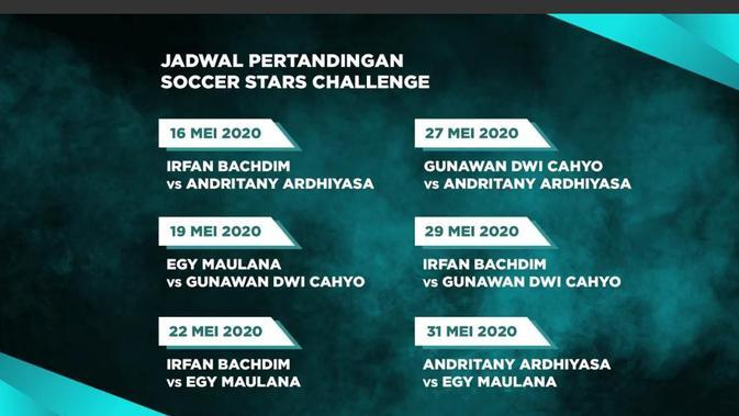 Tonton Live Streaming Rexona Men Soccer Stars Challenge Egy Maulana Vikri Vs Gunawan Dwi Cahyo