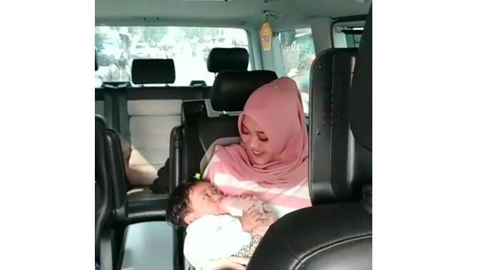 Bayi mendingan Lina (Sumber: Instagram/asep.hermanto_)