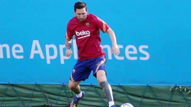 Megabintang Barcelona, Lionel Messi