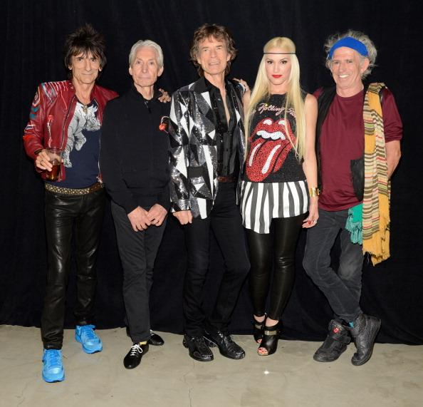 "Rolling Stones Kick Off ""50 and Counting"" Tour With Gwen Stefani, Keith Urban…and Jack Nicholson"