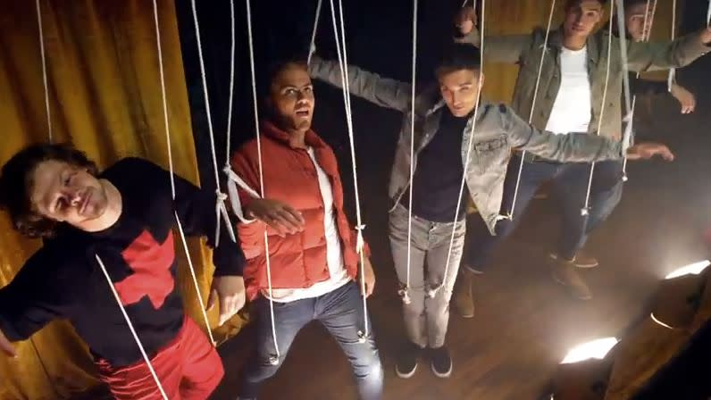 The Wanted Lampoon '90s Boy Bands in Hilarious New Video