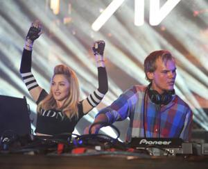 Madonna Surprises Avicii's Crowd At Ultra Music Festival