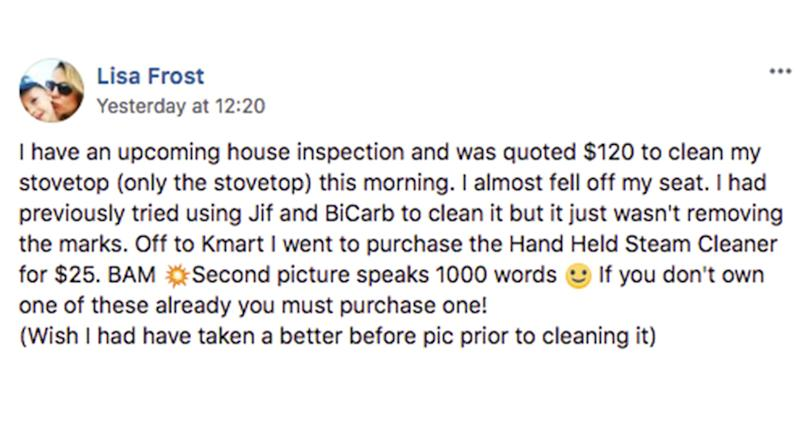 Nsw Mum S Kmart Hack For Sparkling Clean Stove