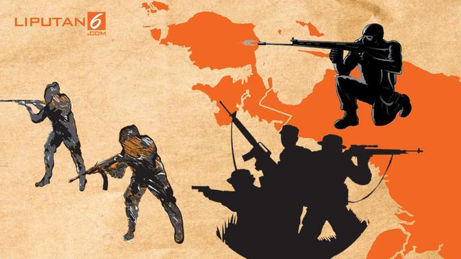 Laporan Intelijen Terkait Penembakan di Intan Jaya Papua dan Pergerakan KKB