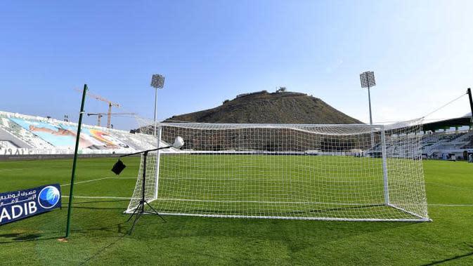 Stadion terindah di Asia, Khorfakkan Stadium (Uni Emirat Arab). (Bola.com/Dok. AFC)