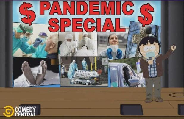 'South Park' to Tackle '2020 Problems' With Special Pandemic-Themed Episode (Video)