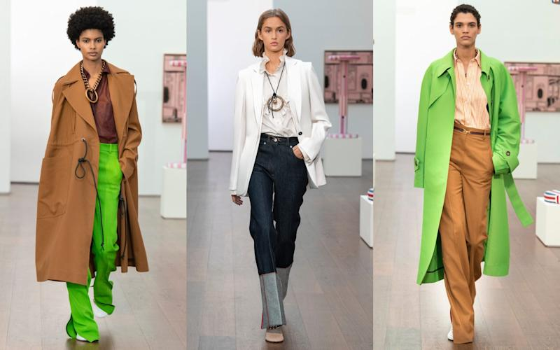 Looks from Victoria Beckham's spring/ summer 2021 collection - Victoria Beckham