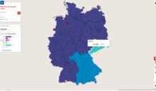 德國大選結果:兩個德國的對峙
