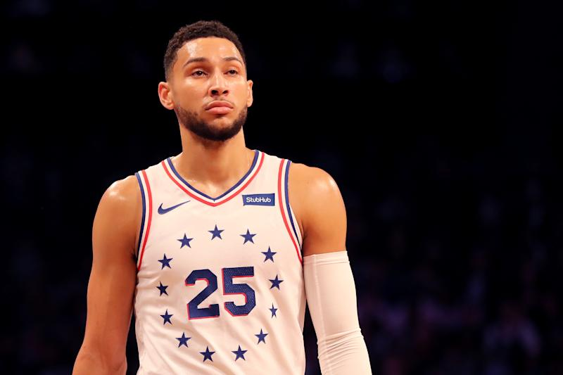 If Ben Simmons wants to join the tier of truly great NBA players, he has to become a competent and willing 3-point shooter. (Getty)