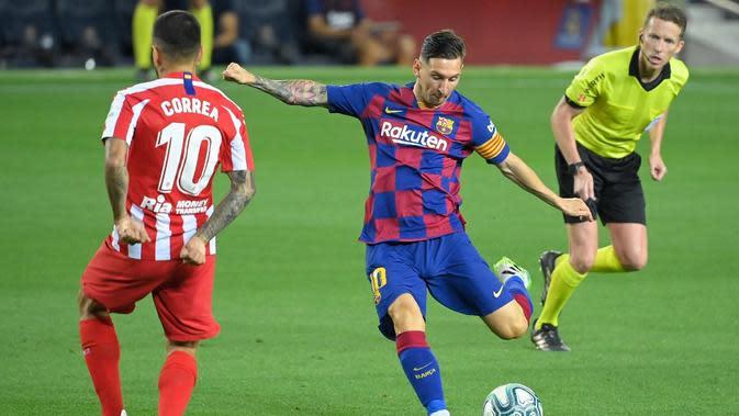 Cuplikan Barcelona Gagal Taklukkan Atletico Madrid di Liga Spanyol