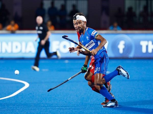 Indian hockey team striker Mandeep Singh (Photo/Hockey India)