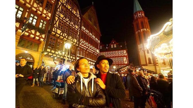 Halilintar Asmid dan Atta Halilintar (sumber: Instagram.com/halilintarasmid)