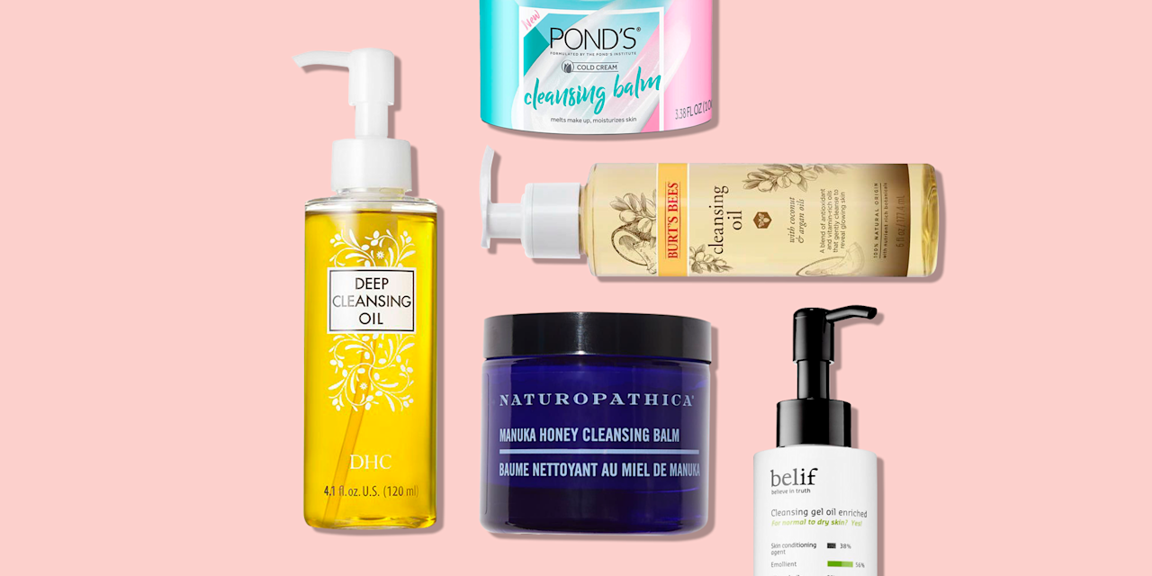 """<p>Oils are a great salve for <a href=""""https://www.goodhousekeeping.com/beauty/anti-aging/a29993947/dry-skin-on-face-treatments-causes"""" target=""""_blank"""">dry skin</a>, and not just in <a href=""""https://www.goodhousekeeping.com/beauty/anti-aging/g30470507/best-moisturizers-for-dry-skin/"""" target=""""_blank"""">creams and lotions</a>. Enter the new category of oil <a href=""""https://www.goodhousekeeping.com/beauty/anti-aging/g31944453/best-face-washes/"""" target=""""_blank"""">facial cleansers</a>: """"A cleansing oil replenishes skin so it doesn't feel dry or tight,"""" says Lisa Vela, a medical aesthetician in Santa Monica, CA. And it won't leave <a href=""""https://www.goodhousekeeping.com/beauty-products/g5059/best-primers-for-oily-skin/"""" target=""""_blank"""">your skin greasy</a>. """"It sounds counterintuitive, but an <strong>oil cleanser combines with the oils on your skin and in your makeup, breaking them down so they're actually easier to remove</strong>,"""" says cosmetic chemist <a href=""""https://chemistscorner.com/perry-romanowski/"""" target=""""_blank"""">Perry Romanowski</a>. <br></p><p>Meanwhile, traditional """"foaming and lathering cleansers typically contain higher levels of surfactant to strip makeup and dirt from your skin,"""" explains <a href=""""https://www.wallstreetdermatology.com/about/"""" target=""""_blank"""">Julia Tzu, M.D.</a>, a dermatologist in New York City. Cleansing oils <a href=""""https://www.goodhousekeeping.com/beauty-products/reviews/g5014/best-face-moisturizer/"""" target=""""_blank"""">keep your skin moisturized</a> while purifying, <em>and</em> are less likely to irritate your <a href=""""https://www.goodhousekeeping.com/beauty/anti-aging/g30298302/best-moisturizers-for-sensitive-skin/"""" target=""""_blank"""">sensitive face</a>. This product is especially perfect for <a href=""""https://www.goodhousekeeping.com/beauty-products/g28637910/best-makeup-removers/"""" target=""""_blank"""">removing makeup</a>: """"Cleansing oils tend to be more gentle on the skin, but will remove even the most stubborn makeup,"""" says pro makeup artist"""