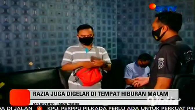 VIDEO: Mojokerto Kembali Zona Merah, Petugas Gabungan Intensif Razia COVID-19