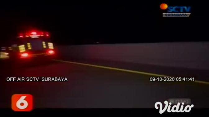 VIDEO: Truk Muatan Tabung Elpiji Terbakar, Beruntung Sopir Bisa Meloloskan Diri