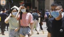 7月份平均最高氣溫33.3度 136年來最熱