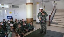 軍事訓練役訓員參訪269旅 體驗社團活動