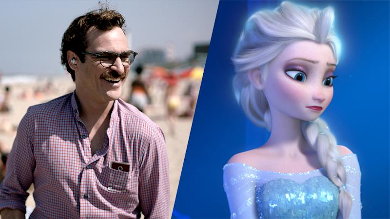 'Her,' 'Frozen,' 'The Croods' Winners of Made in Hollywood Awards