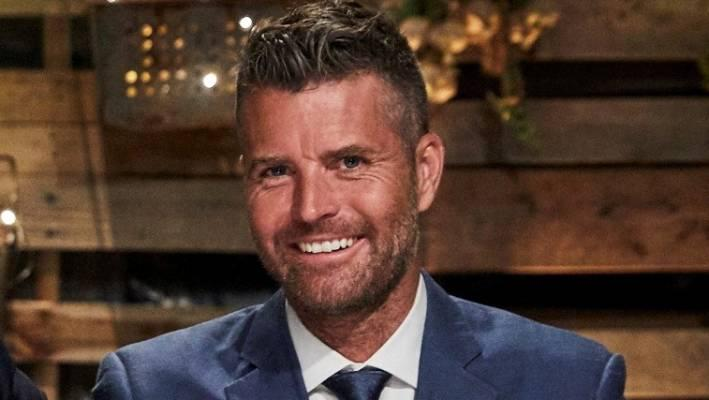 The only nude Aussie included was Pete Evans, though his private parts were censored. Photo: Seven