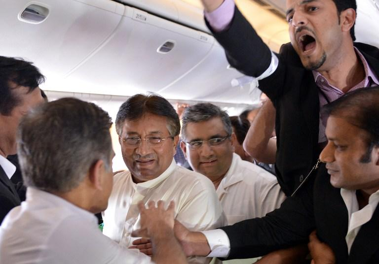 Musharraf in Pakistan