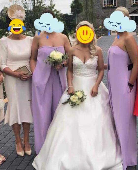 bridesmaids jumpsuits