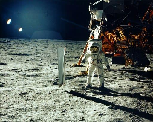 Rockets' red glare celebrate Apollo 11 mission