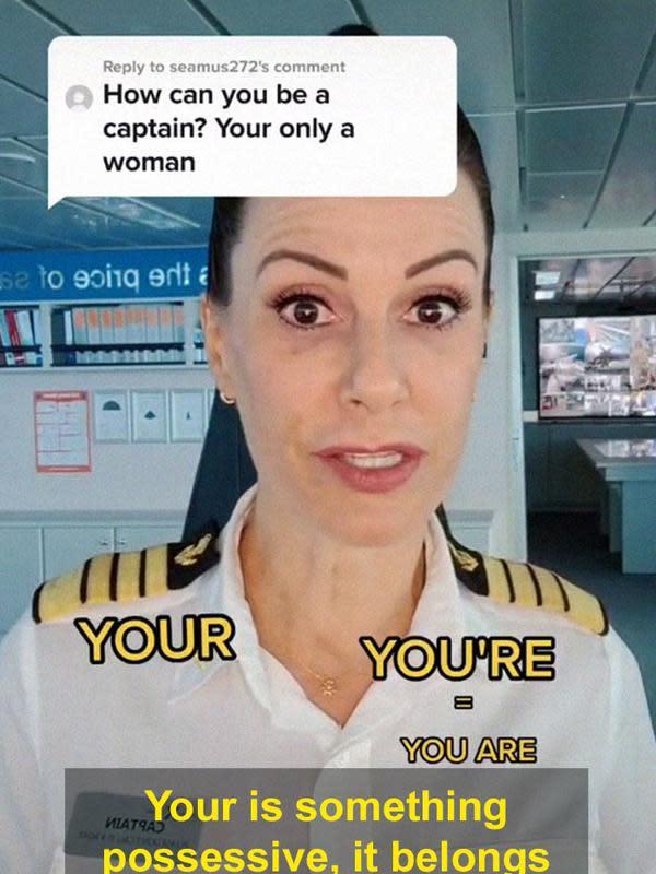 photo from @captaincatemccue