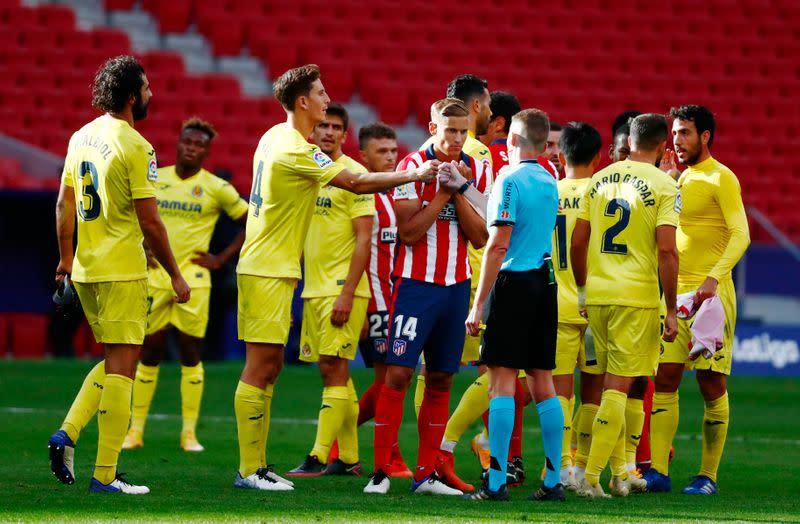 Atletico draw blank against Villarreal