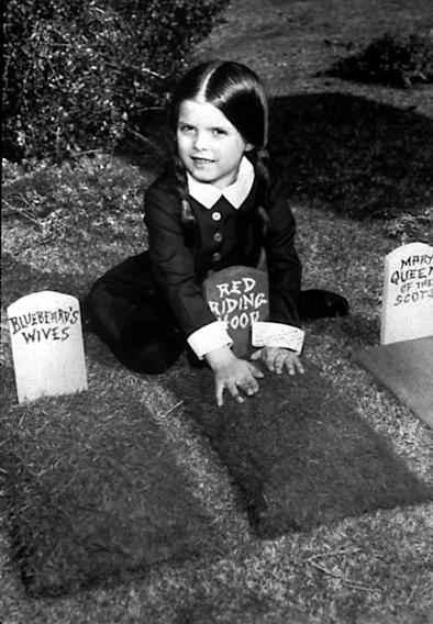 """The Addams Family"" Wednesday Addams (Lisa Loring)"