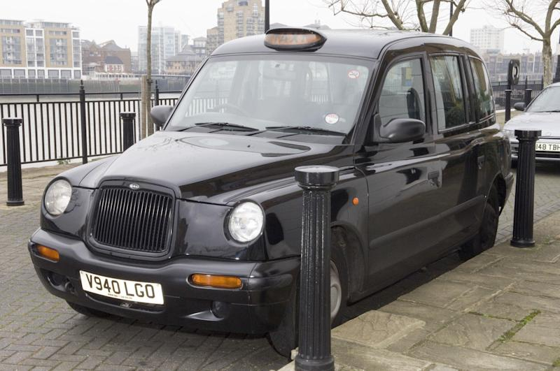 Undated Metropolitan Police handout photo of John Worboys' cab, who was found guilty today of drugging a woman passenger and sexually assaulting her by a jury at Croydon Crown Court.