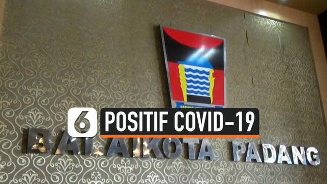 VIDEO: Wakil Wali Kota dan Sekda Padang Terkonfirmasi Positif Covid-19