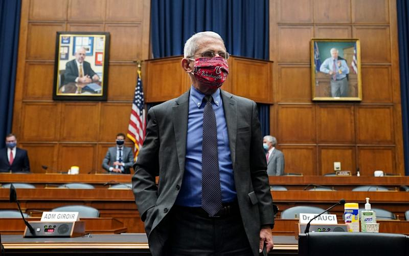 Dr Anthony Fauci is America's top infectious disease expert - KEVIN DIETSCH/POOL/EPA-EFE/Shutterstock