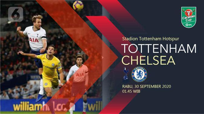Tottenham Hotspur vs Chelsea (Liputan6.com/Abdillah)