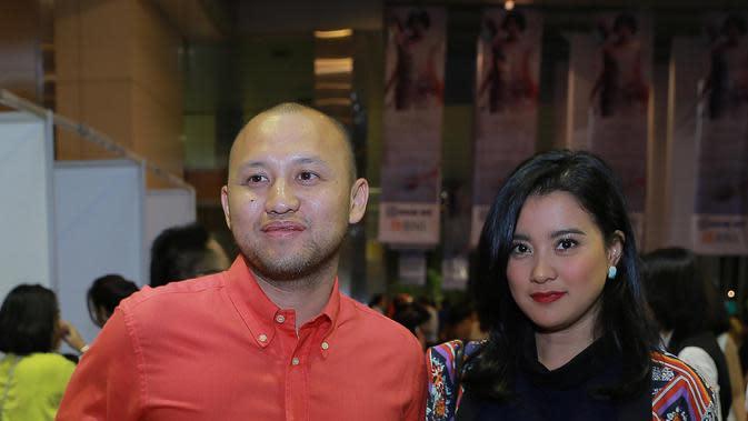 Foto para selebritis yang menghadiri konser Andien (Galih w. Satria/bintang.com)