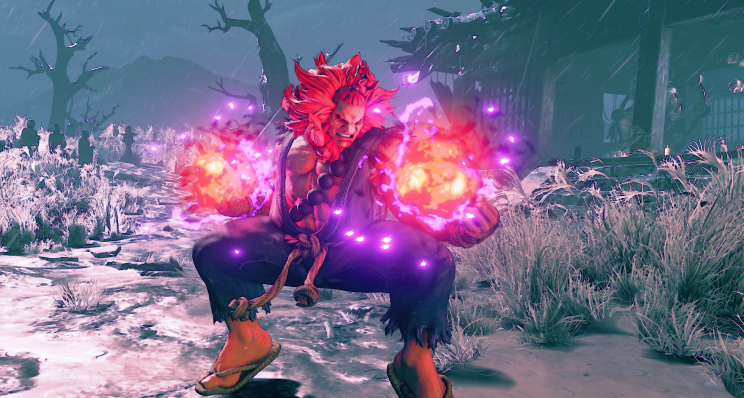 Akuma as seen in Street Fighter V