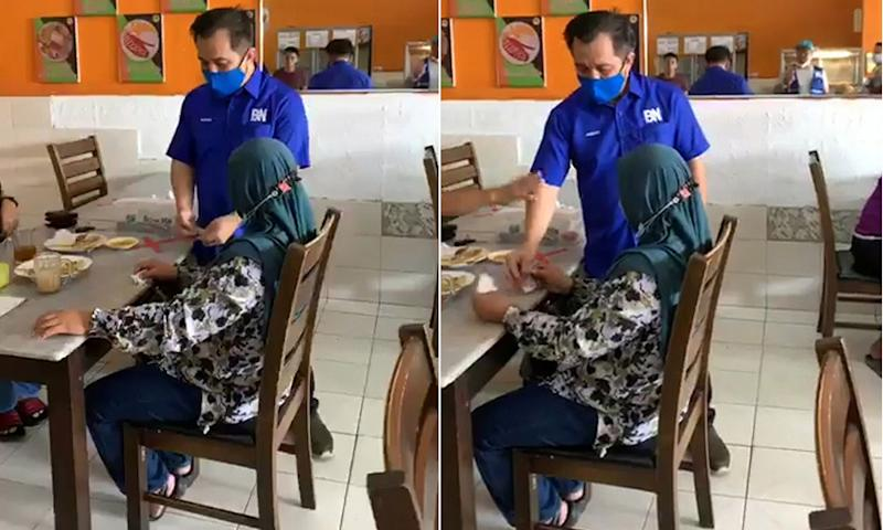 EC chief tells voter to report BN candidate over bribe allegation