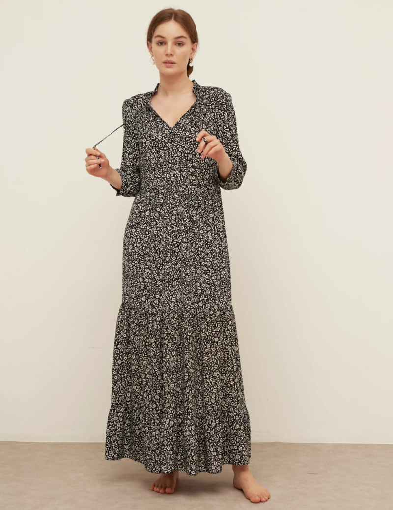 Floral Maxi Smock Dress (Nobody's Child/ M&S)