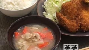 <簡易食譜> 日式料理-豚汁