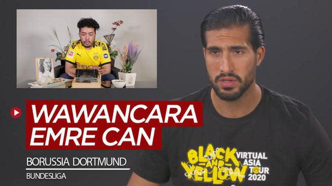 VIDEO: Wawancara Eksklusif Emre Can, Soal Wonderkid Borussia Dortmund Hingga Peluang Juara di Bundesliga