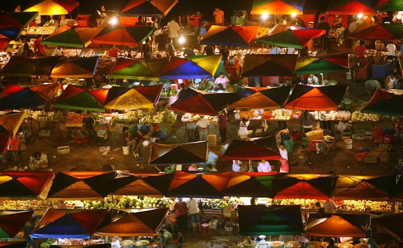 Senior minister Datuk Seri Ismail Sabri Yaakob says all night and morning markets, as well as bazaars in Federal Territories will be allowed to reopen from June 15. — Reuters pic