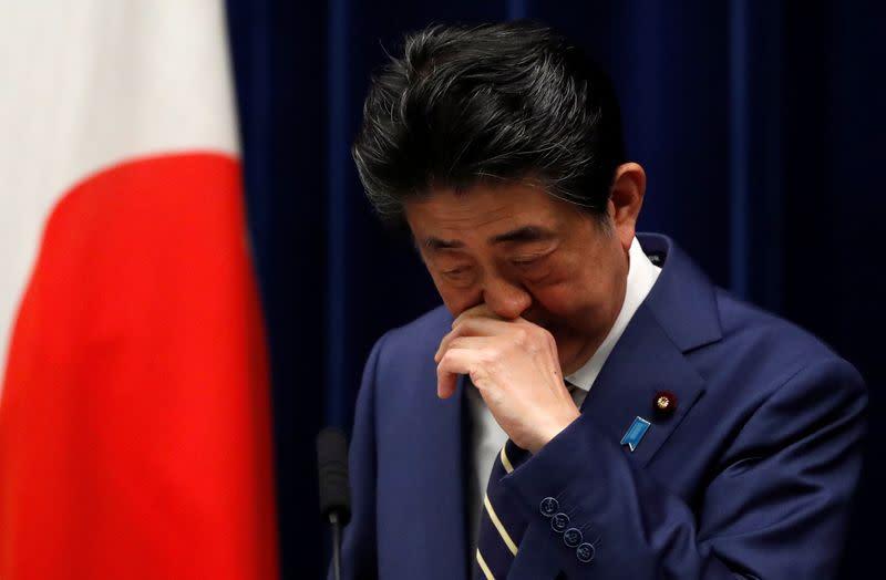 Japan PM advisers call for massive stimulus amid coronavirus
