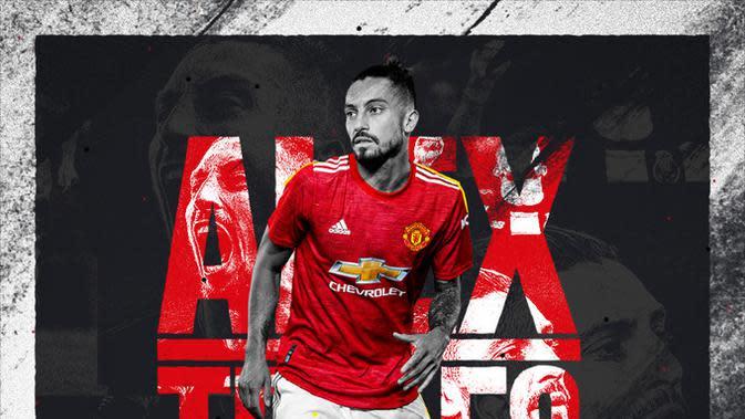 Profil Alex Telles, Bek Sayap Manchester United yang Berbahaya di Kotak Penalti Lawan