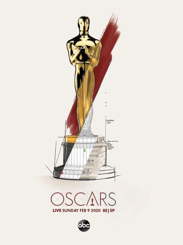 Piala Oscar. (Foto: Instagram @theacademy)