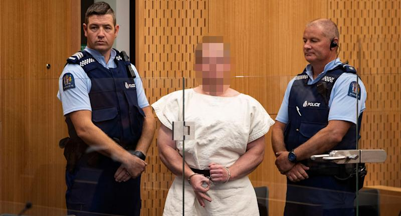 Accused mosque shooter now facing terrorism charge