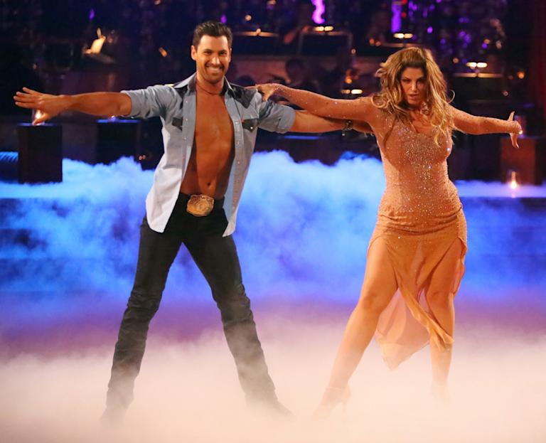 Maksim Chmerkovskiy and Kirstie Alley (10/29/12)