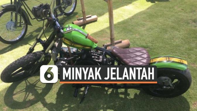 VIDEO: Keren, Bule di Bali Bikin Motor Berbahan Bakar Minyak Jelantah