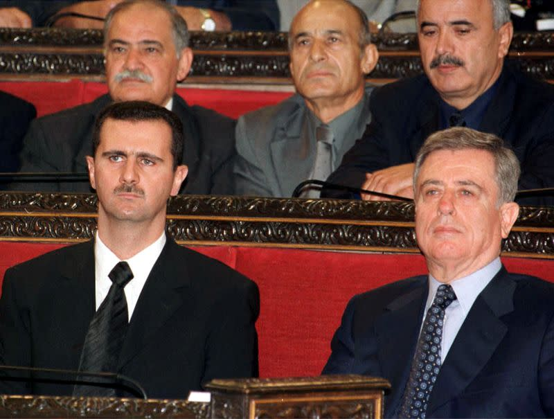 Syrian ex-vice president Khaddam, foe of Assad, dies in France at 88