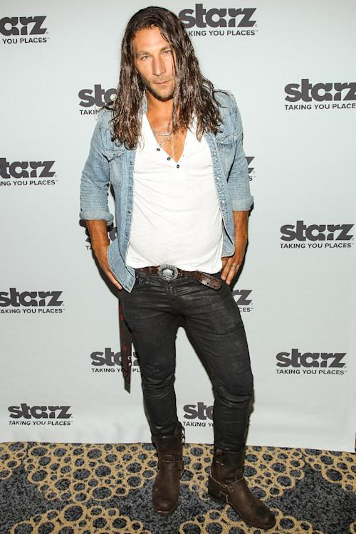 "Actor Zach McGowan attends the ""Black Sails"" press line on Day 3 of 2013 Comic-Con International Convention on Friday, July 19, 2103, in San Diego. (Photo by Paul A. Hebert/Invision/AP)"