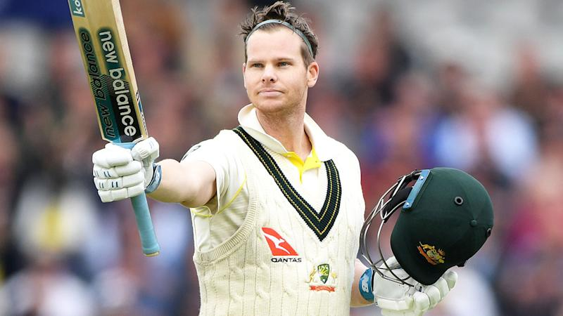 Steve Smith, pictured here in action during the fourth Ashes Test.